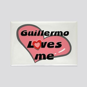 guillermo loves me Rectangle Magnet