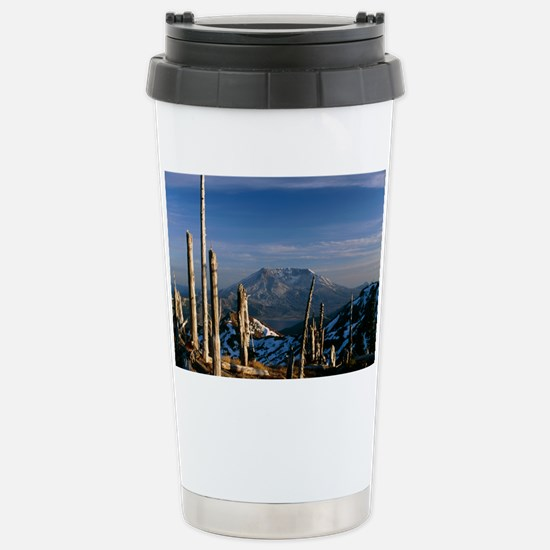 Mount St Helens volcano Stainless Steel Travel Mug