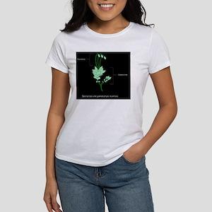 Moss anatomy, artwork Women's T-Shirt