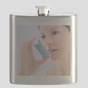 Asthma inhaler use Flask