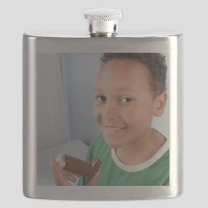 Asthma inhaler Flask