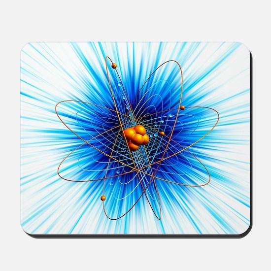 Atomic structure, artwork Mousepad