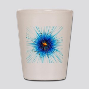 Atomic structure, artwork Shot Glass