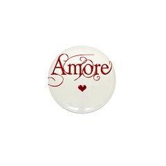 Amore Mini Button