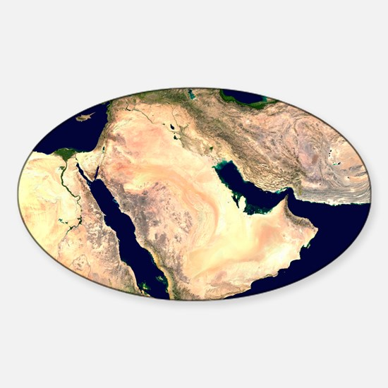Middle East Sticker (Oval)