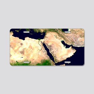Middle East Aluminum License Plate