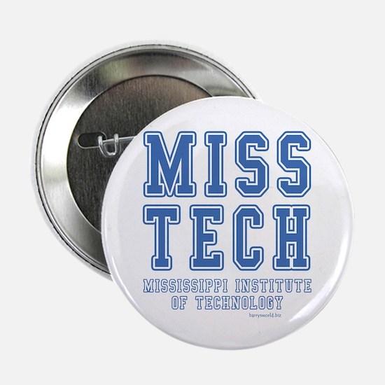 """Miss Tech 2.25"""" Button (10 pack)"""