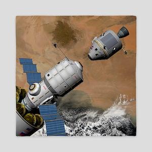 Mission to Mars, artwork Queen Duvet
