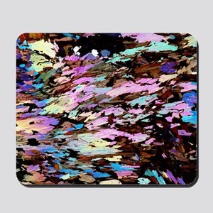 Mica, light micrograph Mousepad