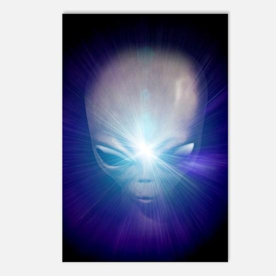 Alien, artwork Postcards (Package of 8)