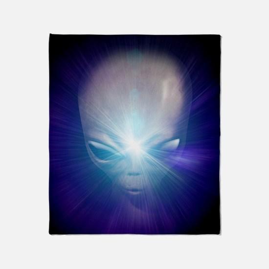 Alien, artwork Throw Blanket
