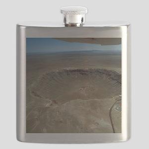 Meteor crater Flask