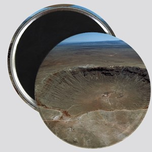 Meteor crater Magnet