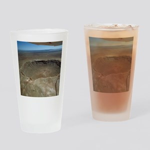 Meteor crater Drinking Glass
