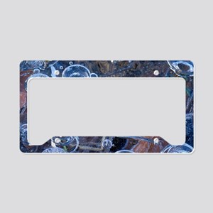 Methane bubbles License Plate Holder