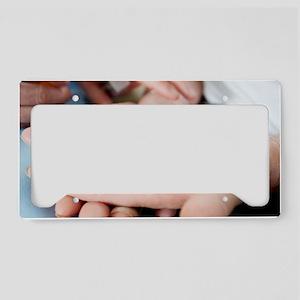 Medical pills License Plate Holder
