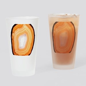 Agate slice Drinking Glass