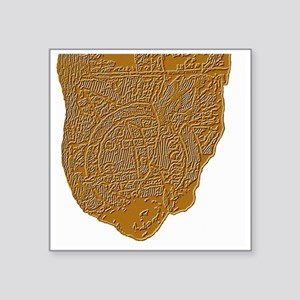 "Map of Mesopotamia Square Sticker 3"" x 3"""