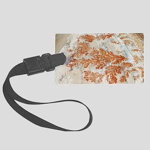 Manganese oxide, dendritic form Large Luggage Tag