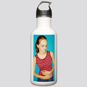 Abdominal pain Stainless Water Bottle 1.0L