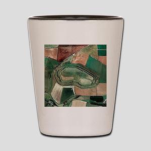 Maiden Castle Shot Glass