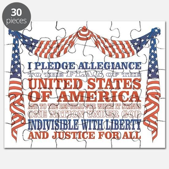 Pledge of Allegiance Puzzle
