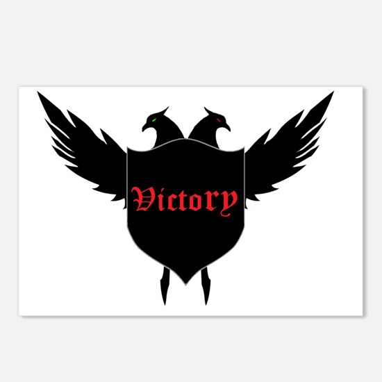 Victory Arms Logo Postcards (Package of 8)