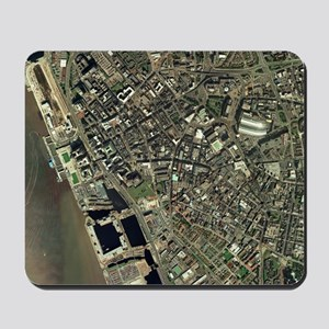 Liverpool, UK, aerial image Mousepad