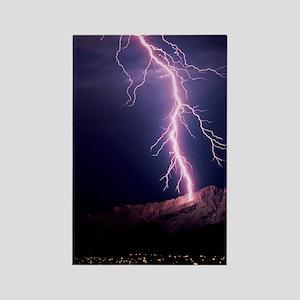 Lightning over Tucson Rectangle Magnet