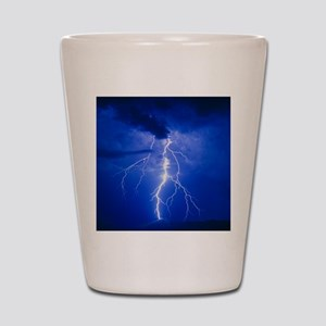 Lightning in Arizona Shot Glass
