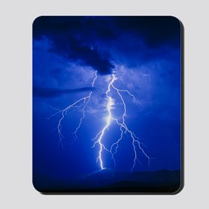 Lightning in Arizona Mousepad