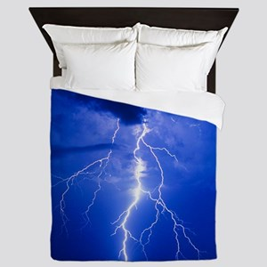 Lightning in Arizona Queen Duvet