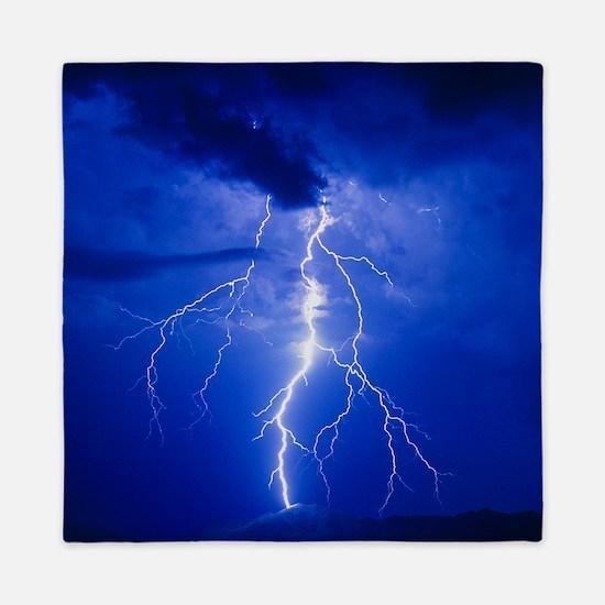 Lightning in Arizona Queen Duvet