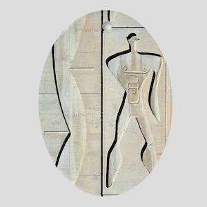 Le Corbusier design Oval Ornament