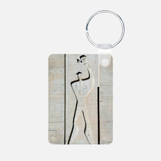 Le Corbusier design Aluminum Photo Keychain