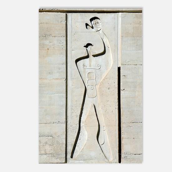 Le Corbusier design Postcards (Package of 8)