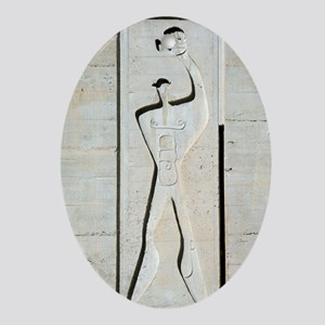 Le Corbusier design Oval Ornament