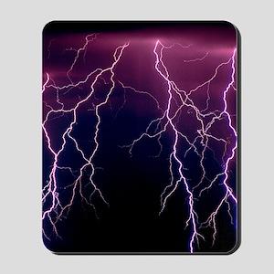 Lightning in Rincon Mountains, Tucson Mousepad