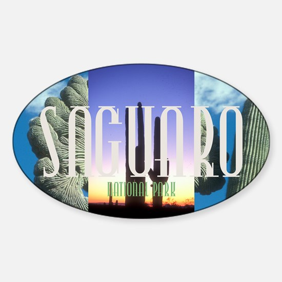 saguaro1 Sticker (Oval)