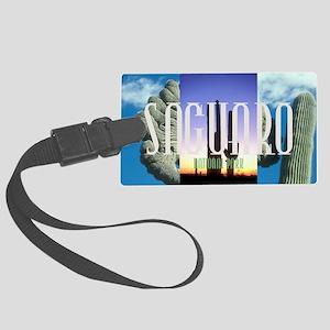 saguaro1 Large Luggage Tag