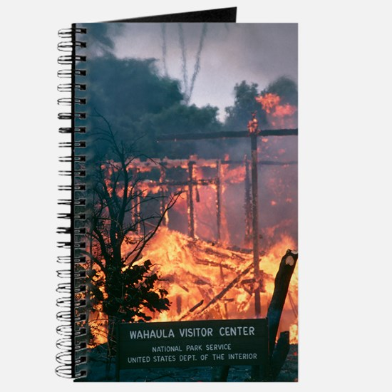 Lava flow destruction, Hawaii Journal