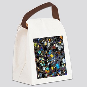 Leucite basanite, thin section Canvas Lunch Bag