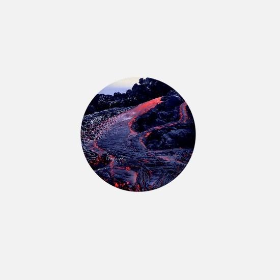 Lava flow Mini Button