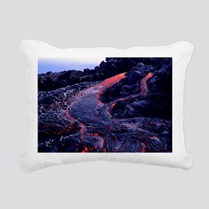 Lava flow Rectangular Canvas Pillow