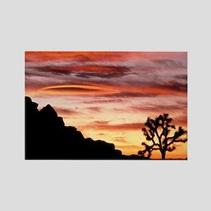 Lenticular cloud, Joshua Tree NM, Rectangle Magnet