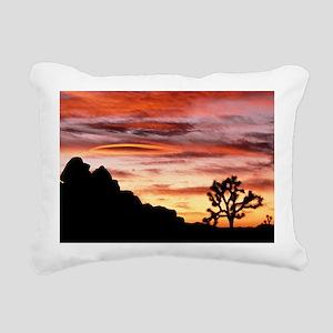 Lenticular cloud, Joshua Rectangular Canvas Pillow