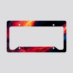 Lava flow License Plate Holder