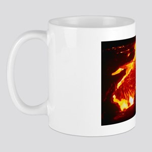 Lava flow at night Mug