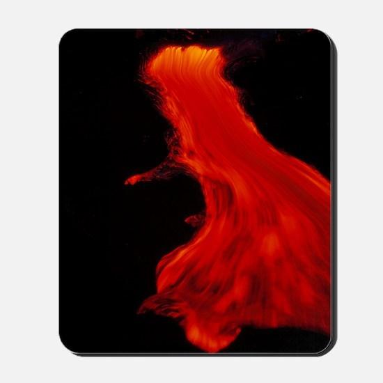 Lava flow Mousepad