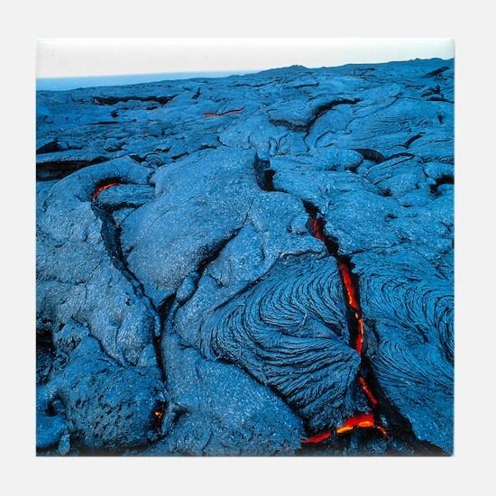 Lava flow Tile Coaster